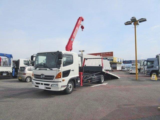 日野 増トン 車載車/キャリアカー/重機運搬車 TKG-GD7JLAA