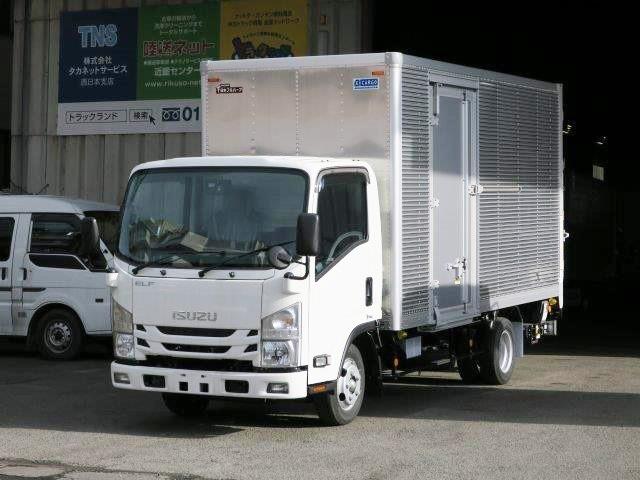 いすゞ 小型 アルミバン TRG-NLR85AN