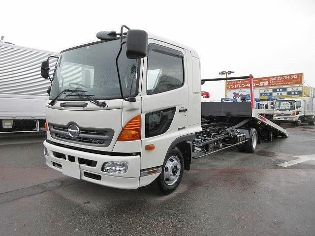 日野 中型 車載車/キャリアカー/重機運搬車 TKG-FD9JKAA