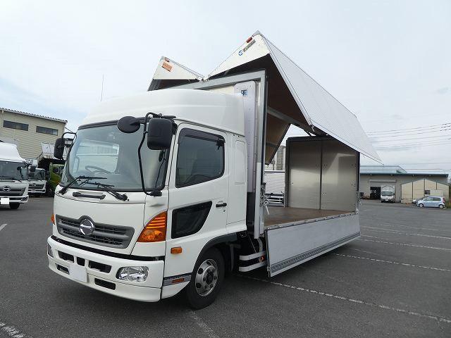 日野 中型 冷凍ウィング TKG-FD9JLAA