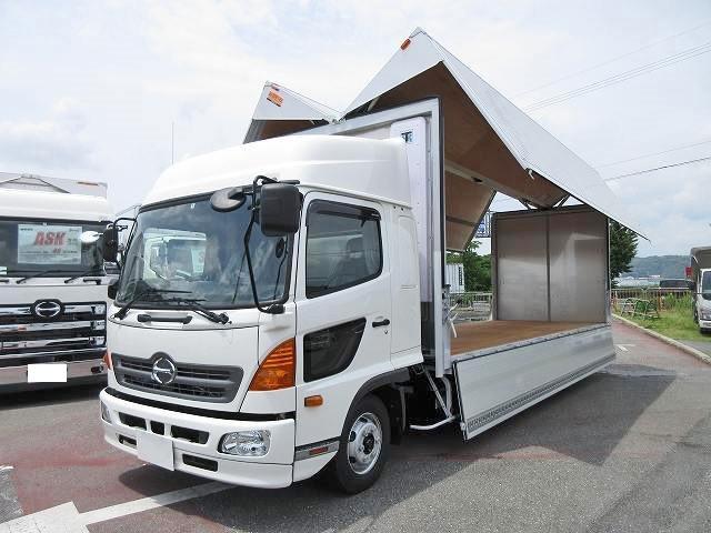 日野 中型 冷凍ウィング TKG-FD7JPAG