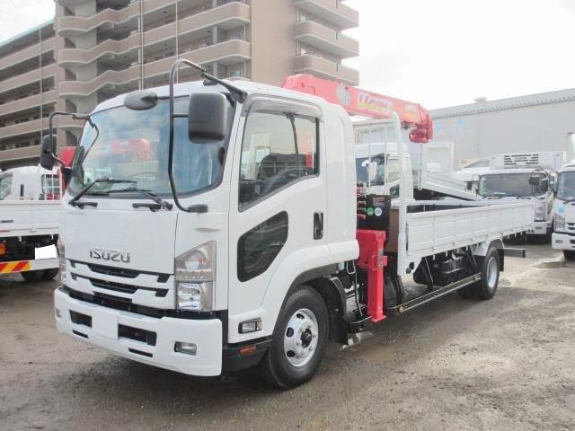 いすゞ 中型 クレーン付 TKG-FRR90S2