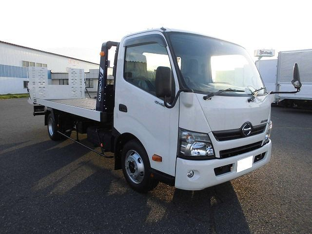 日野 小型 車載車/キャリアカー/重機運搬車 TDG-XZU720M