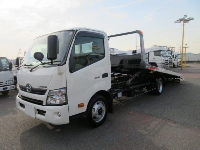 日野 小型 車載車/キャリアカー/重機運搬車 TKG-XZU720M