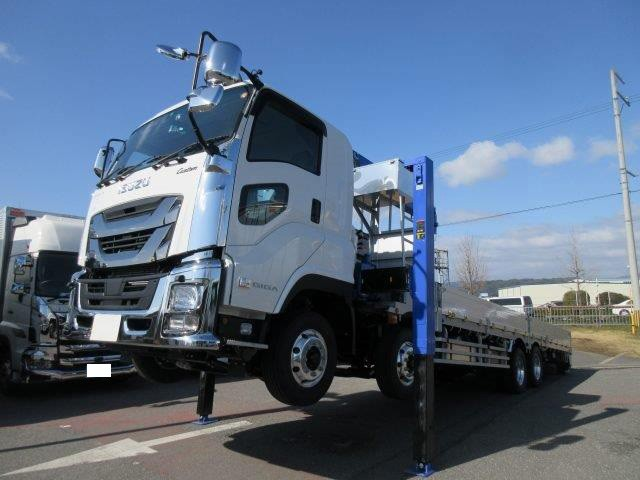 いすゞ 大型 車載車/キャリアカー/重機運搬車 QKG-CYH77B