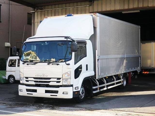 いすゞ 中型 アルミウィング/幌ウィング 2RG-FRR90S2