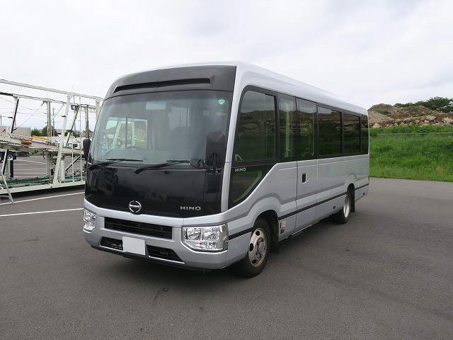 日野 中型 バス SKG-XZB70M