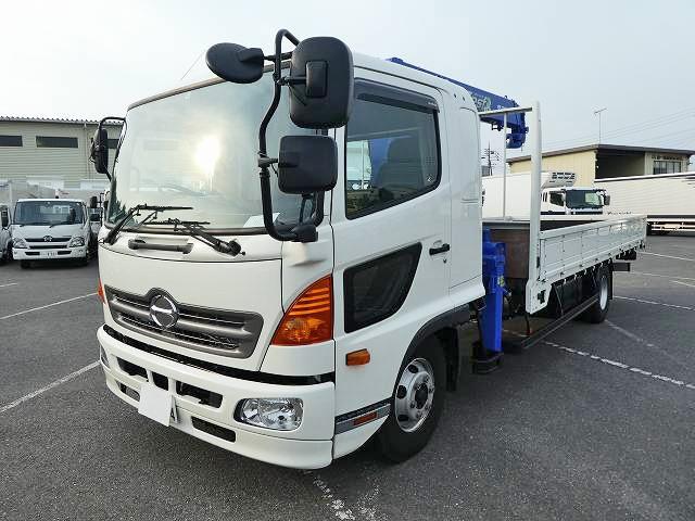 日野 中型 クレーン付 TKG-FD7JLAA