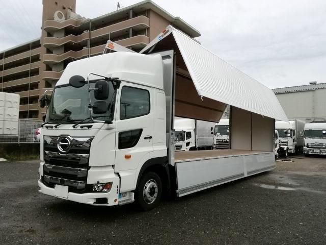 日野 大型 冷凍ウィング 2PG-FW1AHG