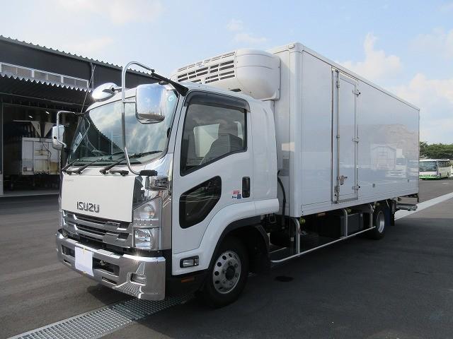いすゞ 中型 冷凍バン TKG-FRR90T2