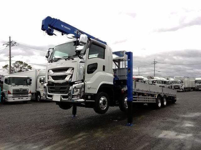 いすゞ 大型 車載車/キャリアカー/重機運搬車 2PG-CYH77C