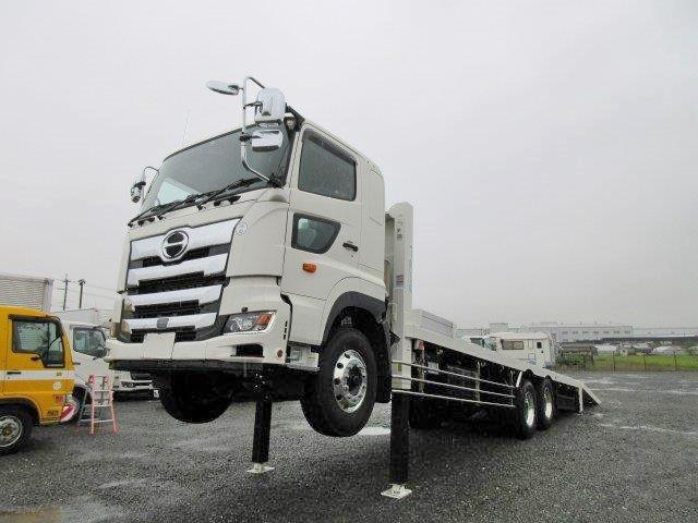 日野 大型 車載車/キャリアカー/重機運搬車 2KG-FS1EHA