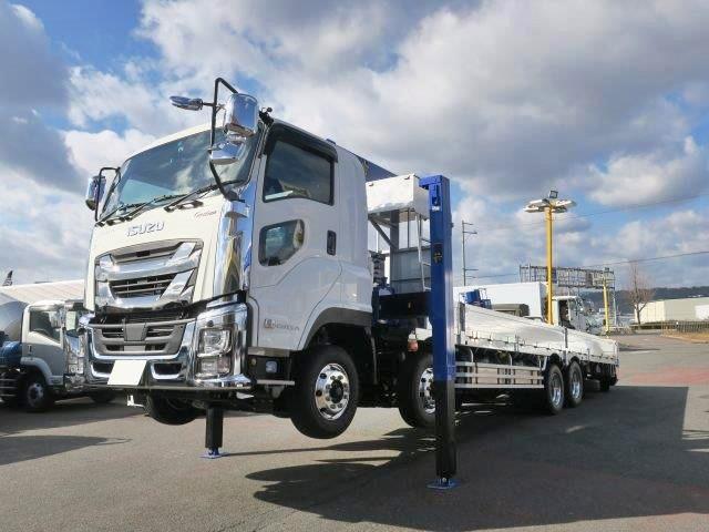 いすゞ 大型 車載車/キャリアカー/重機運搬車 QKG-CYH77C