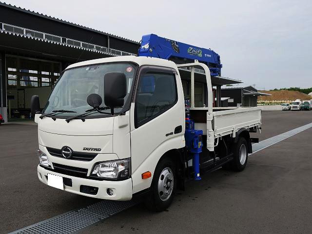 日野 小型 クレーン付 TKG-XZU640M