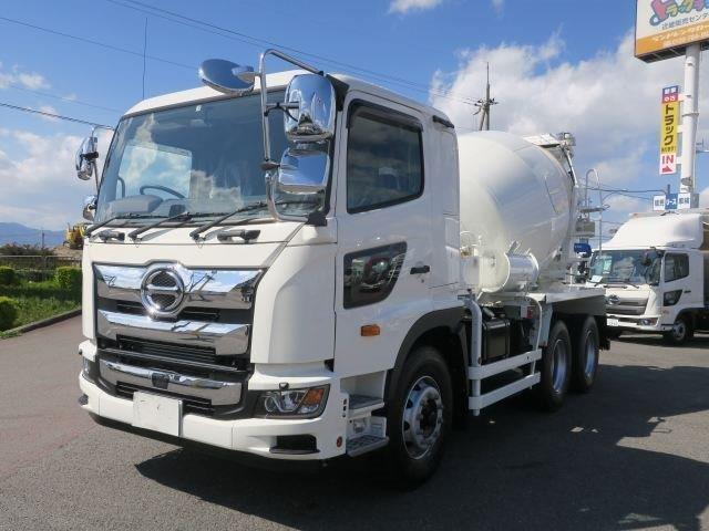 日野 大型 ミキサー車 2PG-FS1AGA