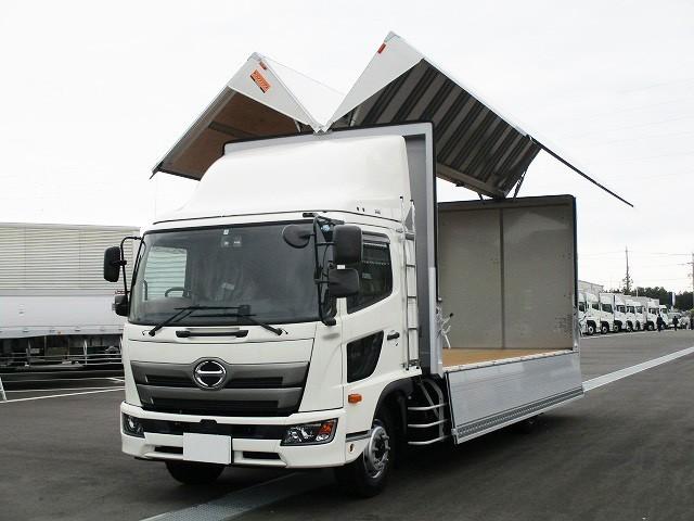 日野 増トン アルミウィング/幌ウィング 2KG-FE2ABG