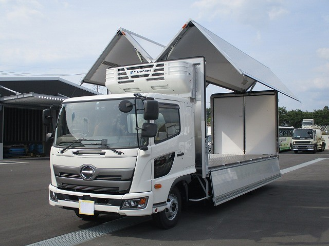 日野 中型 冷凍ウィング 2KG-FD2ABA