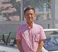 グッドカーライフ株式会社 代表取締役安次富貴野氏