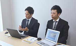 株式会社ケイシイシイ SCM 部 物流管理チームサブリーダー 南家善重 氏と田中竜也 氏