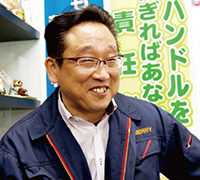 有限会社まるべり 代表取締役社長大津順二氏